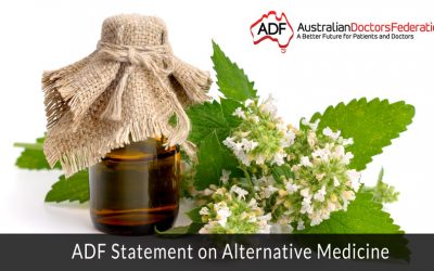 ADF Statement on Alternative Medicine
